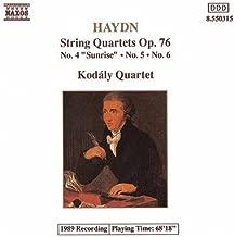 Haydn: String Quartets, Op. 76, Nos. 4, 5 and 6