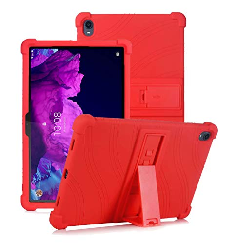 YGoal Funda para Xiaomi Mi Pad 5 - Cubierta Protectora a Prueba de choques Suaves para niños de Peso liviano Silicona Case Cover para Xiaomi Mi Pad 5/5 Pro Tablet, Rojo