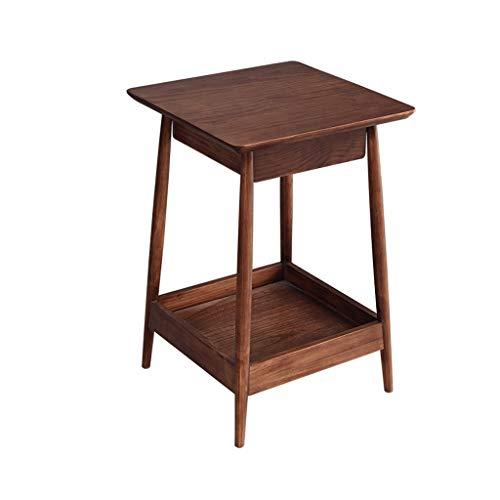 Koffietafel Nordic Solid Wood Side Table Woonkamer Slaapbank Hoek Klein Appartement Slaapkamer Vierkante Tafel Eenvoudige Moderne XINYALAMP