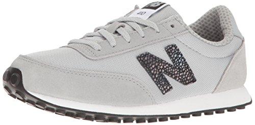 New Balance Wl410v1, Zapatillas Para Mujer, Negro (Black/Pink BLP), 38 EU