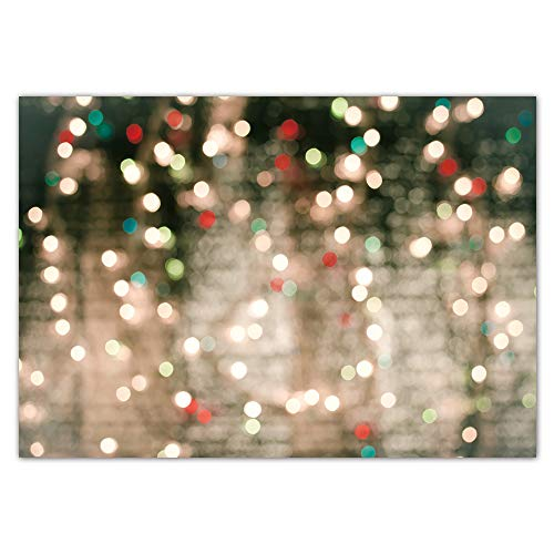 Funnytree 7x5ft Glitter Bokeh Halos Backdrop for Photography Winter Glow Sparkle Party Background Holiday Baby Bridal Shower Birthday Party Wedding Bright Selfie Banner Portrait Photo Booth Studio
