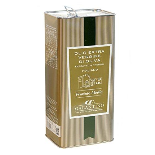 FRANTOIO GALANTINO - Natives mittel fruchtiges Olivenöl 5lt