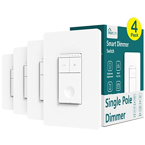 Our #3 Pick is the Treatlife Smart Dimmer Switch