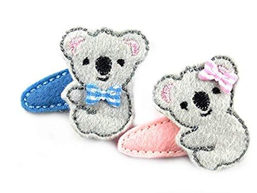 Koala Haarspange für Kleinkinder - freie Farbwahl