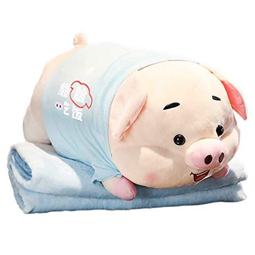 Chubby Plüsch Schwein Plüschtier Weiches Tier Umarmungskissen Weich Gefülltes Kissen Süßes Tier Gefüllte Kissen Bequemes Spielzeug Extrem Weich Plüsch Kinder Plüschtier Kleinkind Geschenk Plüsch