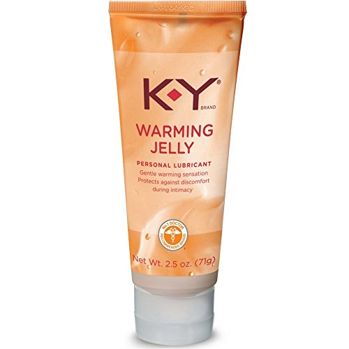 K-Y Warming Jelly Lubricant, 2.5 oz. (Pack of 6)