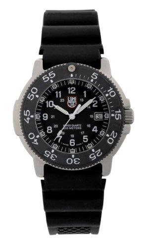 Luminox AUSVERKAUFT! - Reloj analógico de caballero de cuarzo con correa de poliuretano negra - sumergible a 200 metros