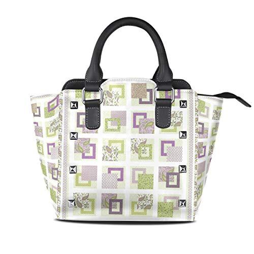 DEZIRO Handtasche mit Steppmuster für den täglichen Gebrauch