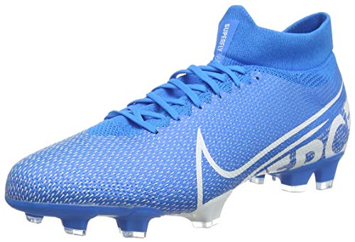 Nike Superfly 7 Pro Fg Scarpe da Calcio Unisex Adulto, Multicolore (Blue Hero/White/Obsidian 414), 42.5 EU