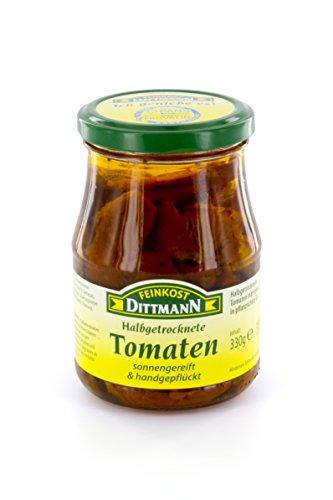 Feinkost Dittmann Halbgetrocknete Tomaten in Öl (330 g)