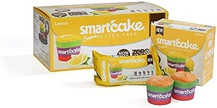 LEMON SMARTCAKE (16 cakes): Sugar-free, Gluten-free, Low carb, Keto dessert