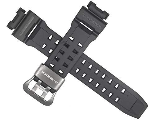 Casio - Correa de reloj para GW-9200GYJ-1 GW-9200 G-9200, color gris oscuro