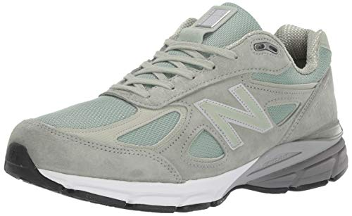 New Balance - Mens M990S Shoes, 12.5 UK - Width D, Mint/Silver Mint