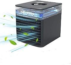 JIMACRO Aire Acondicionado Portátil, NEXFAN Air Cooler Humidificador,USB Oficina Ventilador de Escritorio Aire Personal Enfriador Climatizador para el hogar, al Aire Libre (Negro)