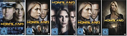 Homeland - Season/Staffel 1+2+3+4+5 (1-5) * DVD Set