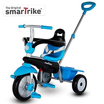 smarTrike Breeze Toddler Tricycle for 1,2,3 Year Olds - 3 in 1 Multi-Stage Trike by smarTrike