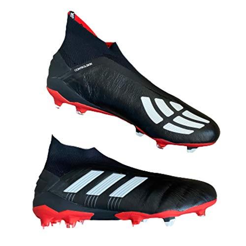 adidas Predator 19+ FG ADV Zapatos de Fútbol Negro, 48 2/3 Hombre