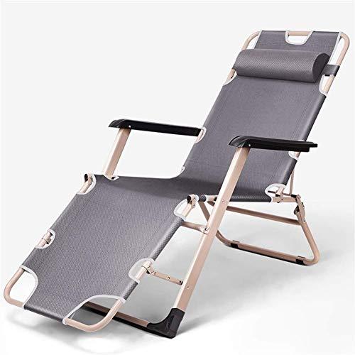 ZHUAN Chaise Longue Fauteuils inclinables Chaise de Jardin Zero Gravity Chair Chaise Longue Pliante pour terrasse ou Plage, Balcon, Parc ou Camping 178 et Fois; 47 & Times; 30 Cm c2003 (Couleur: G