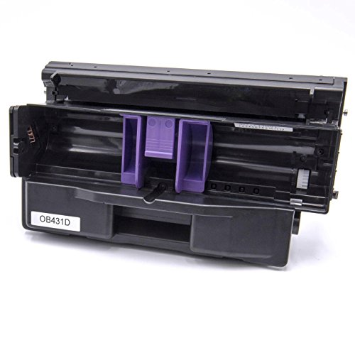 vhbw Trommeleinheit Bild-Trommel schwarz für Laser-Drucker Oki B411 D, B411 DN, B412 DN, B431 D, B431 DN, B431 DN Plus, B432 DN, B512 DN