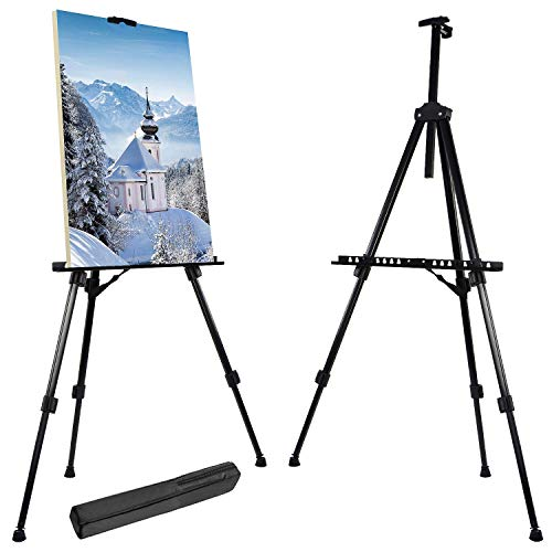 Easel Art Stand for Artist 52cm-162cm Adjustable Portable Table & Floor...