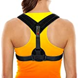 Back Posture Corrector Brace Perfect for Womens, Mens & Teens. Improve Your Posture with Best Elastic Posture Shoulder Back Brace. Figure 8 Brace Clavicle Small/Medium