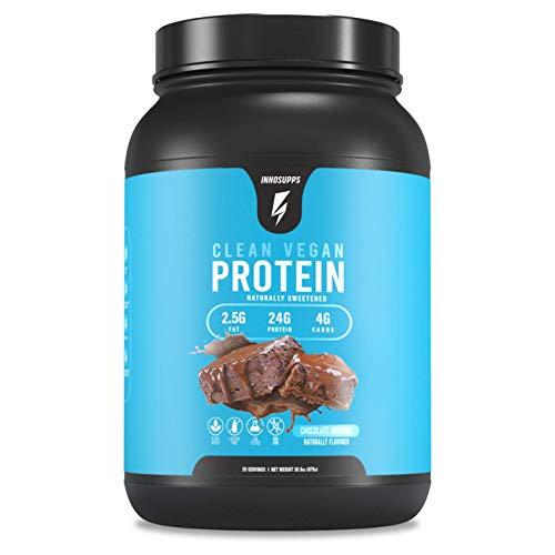 Inno Supps Clean Vegan Protein - Plant Based, Vegan, No Artificial Sweeteners, No Gluten, No Dairy. …