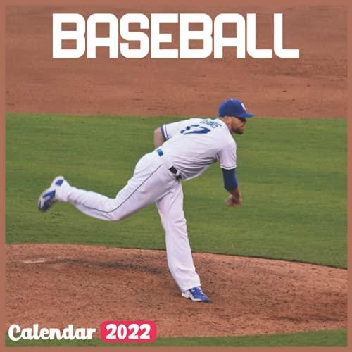 Baseball Calendar 2022: Official Sports Calendar 2022, 18 Month Photo of Baseball calendar 2022, Mini Calendar