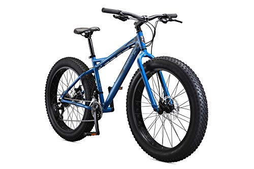 Mongoose Juneau 26-Inch Fat Tire Bike, Slate Grey