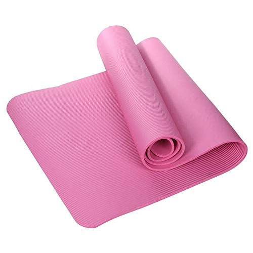Colchoneta de ejercicio antideslizante 15mm Yoga Mat TPE antideslizante espesado gimnasio en casa bajar de peso aptitud Ejercicio De la manta del cojín deporte de las mujeres Yoga Mat Para casa, gimna
