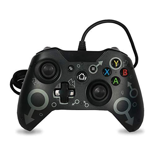 Mando Xbox One para Windows PC 7/8/10 Compatible con Xbox One/Xbox One S/Xbox One X/ Xbox Series X/S Controlador para Juegos con Cable USB Joystick de Microsoft Gamepad