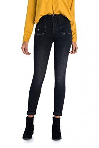 Salsa Jeans Diva Skinny Neri con Applicazioni