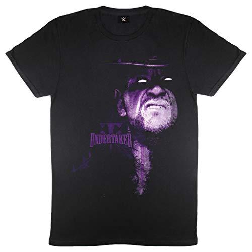 WWE El clásico Undertaker Deadman Camiseta para Hombre Negro L   Wrestlemania, Idea del Regalo de cumpleaños para el papá Hijo Hermano, para el hogar o en el Gimnasio