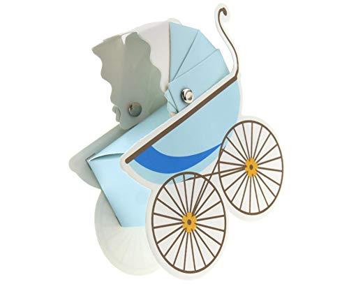 10 Stks wandelwagen vorm snoep doos Sweet Box voor partij bruiloft baby douche Favor papier geschenkdoos