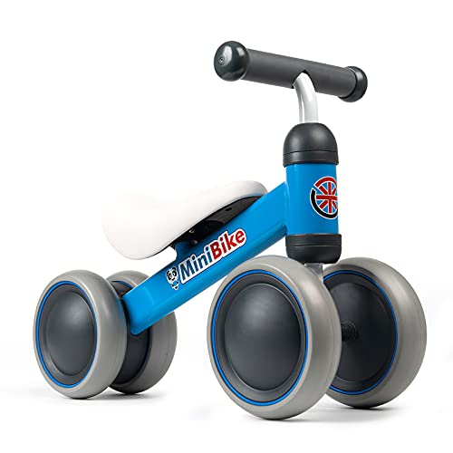 YGJT Baby Balance Bikes Rides Toys for 1 Year Old Boys, Anti-Drop Indoor...