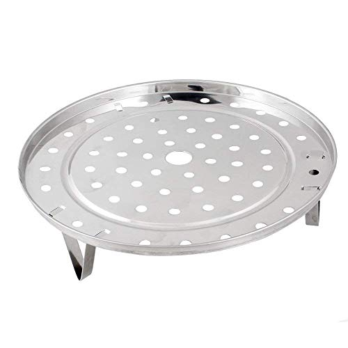 Steaming Rack Household Stainless Steel Cooking Ware Thickened Steaming Rack Stand (7 inch)