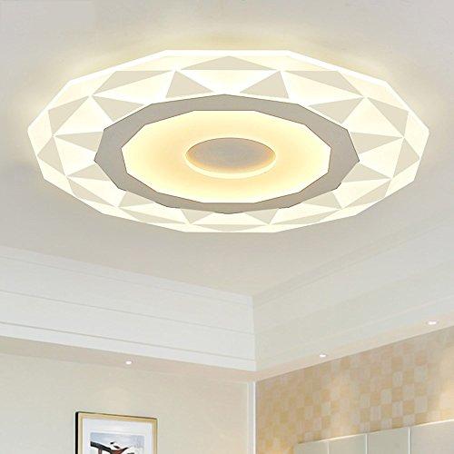 5151BuyWorld Lamp Ultradun, acryl, moderne lampen voor LED-plafondlamp, woonkamer, plafondlamp, lampenkap, topkwaliteit