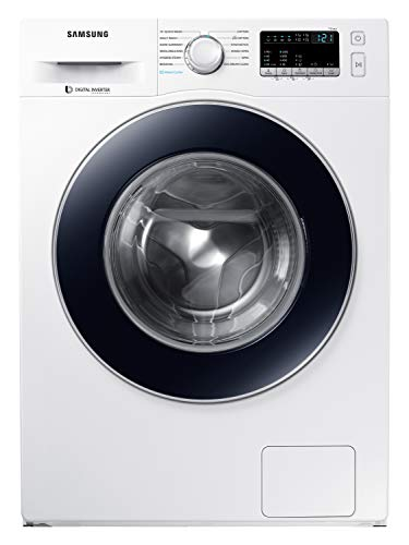 Samsung 7 Kg 5 Star Inverter Fully-Automatic Front Loading Washing Machine (WW70J42G0BW/TL, White, Hygiene Steam)