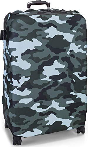 LuxuryforTravel - elastische Kofferschutzhülle Dicke Kofferhülle mit Reißverschluss Kofferüberzug Kofferschutz Kofferbezug Reisekofferabdeckung Koffer Cover...