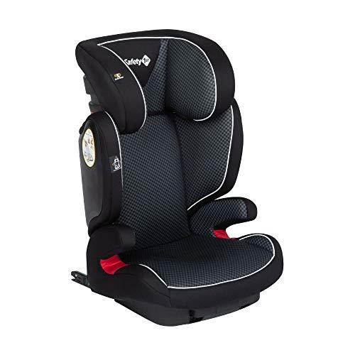Safety 1st Road Fix Seggiolino Auto Isofix 15-36 kg, Gruppo 2/3, Unisex Bambini, dai 3.5 Anni ai 12 Anni, Nero (Pixel Black)