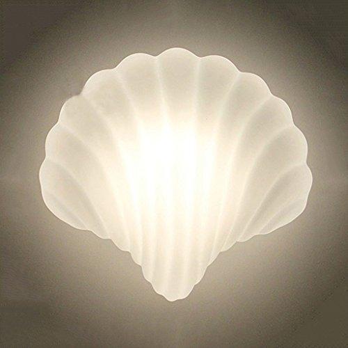 MEILING Einfache moderne Die Muschel Wand Lampe Mode Persönlichkeit Wohnzimmer Schlafzimmer Studie Creative Wandleuchte