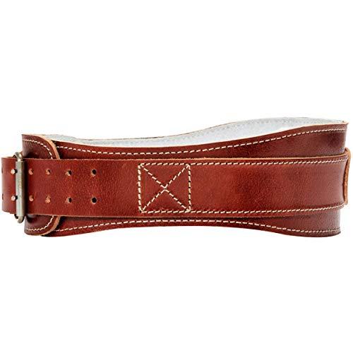 """Schiek Sports Model 2004 Leather 4 3/4"""" Contour Weight Lifting Belt - XXL"""