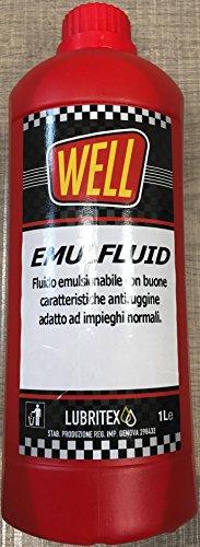 OLIO FLUIDO EMULSIONABILE LUBRIFICANTE TAGLIO METALLI LT1