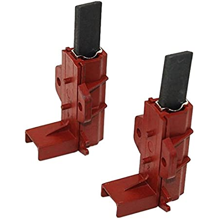 for IWE7145 Washing Machine MOTOR CARBON BRUSHES In Red Holders x 2
