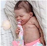 CHENGRR MuñEca De Silicona Realista, 18 Pulgadas PequeñA MuñEca, Juguete De SimulacióN para ReciéN Nacidos MuñEca Reborn, Reborn Birthday Gifts