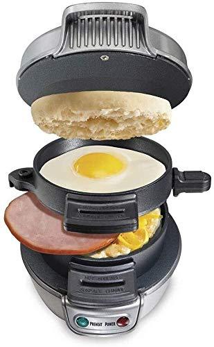 HLR Sandwich Paninitoaster multifunctionele non-stick Hamburger ontbijtmachine elektrische ei-sandwich Maker Mini Gril pannenkoekenplaten broodrooster