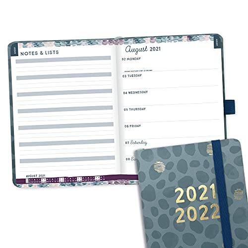 (in English) Boxclever Press Perfect Year A6 Academic Diary 2021-2022. Compact 2021-2022 Diary with Perforated Notes & List Pages. Weekly Planner runs Aug'21 - Aug'22. Pocket Diary Size: 15.5 x 11cm