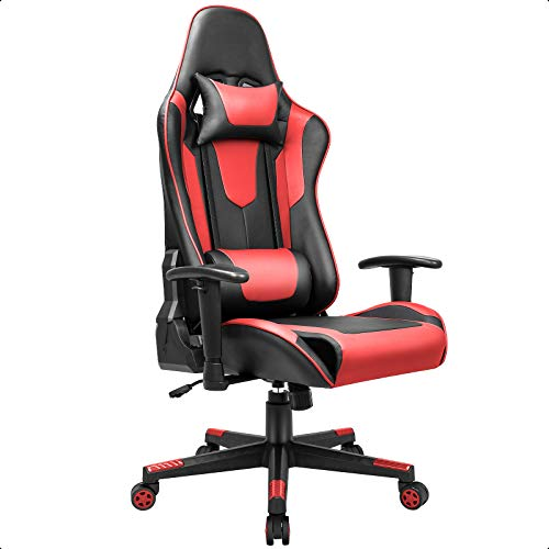 BASETBL Gaming Stuhl PC Gamer Racing Stuhl Gaming Sessel mit...