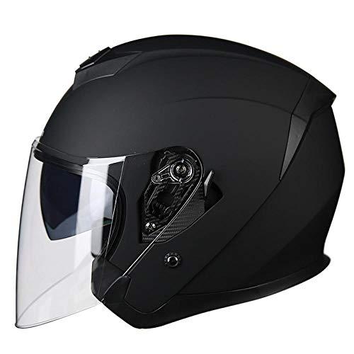 Motorhelm halve helm cover elektrische motorfiets veiligheidshelm universele batterij auto