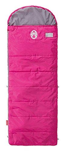 コールマン(Coleman) 寝袋 スクールキッズ C10 使用可能温度10度 封筒型 ピンク 2000027269