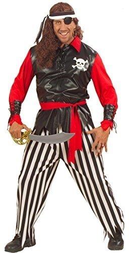 PIRATE MAN F/OPTIC (S) (shirt w/vest pants belt headband pat